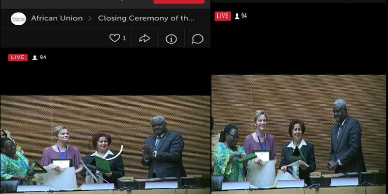 الاتحاد الإفريقي يسند جائزة التميز العلمي للأستاذة والباحثة التونسية نزيهة عاتي بلحاج