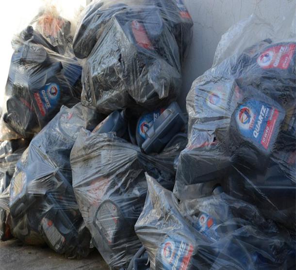 بالصور: القبض على خمسة أشخاص من أجل سرقة شركة وحجز كميات من الأوعية في تونس