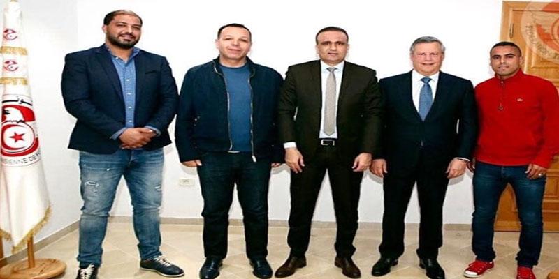جلسة مصالحة بين معين الشعباني ووسام يحي بحضور رئيسي الفريقين