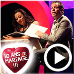 En vidéo...'10 ans de mariage' avec Mohamed Dahech et Manel Abdelkaoui : Le rire était au rendez-vous