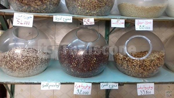 بالصور: هذه أسعار ''الزقوقو'' والفواكه الجافة اليوم