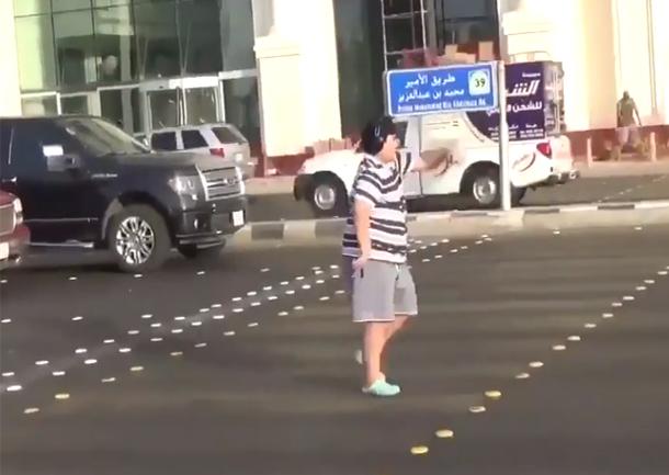 القبض على شاب سعودي بسبب رقصة