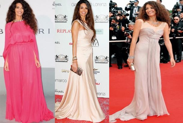 عارضة الأزياء التونسية عفاف جنيفان تتألق بإطلالاتها المتميزة