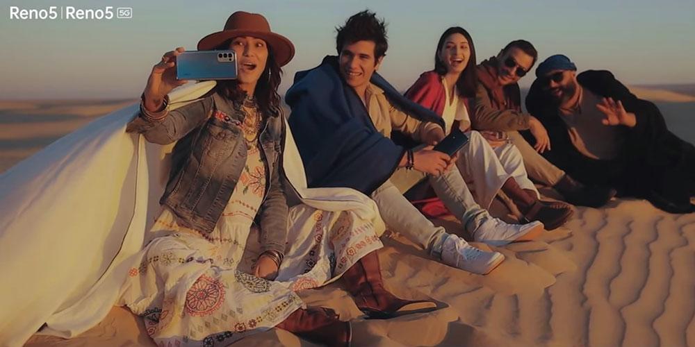 En vidéo : Maram, Yassine, Myriam et Nassim ensemble pour le lancement de l'Oppo Reno 5