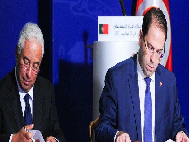 توقيع 4 اتفاقيات مشتركة بين تونس والبرتغال