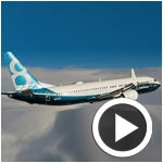 En vidéo : Le Boeing 737 MAX réalise avec succès son vol inaugural
