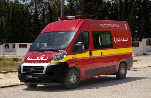 الداخلية : حريق بأحد المستودعات بسوق سيدي بومنديل