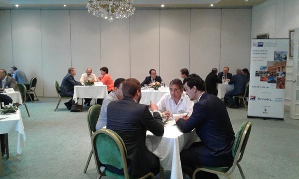 Visite d' une délégation allemande en Tunisie