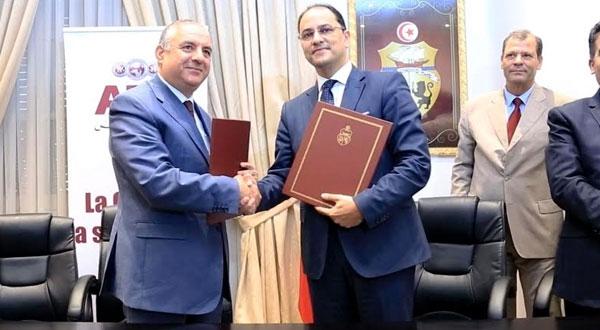 البنك العربي لتونس يرافق وزارة التربية في مشروع رقمنة المدرسة التونسية
