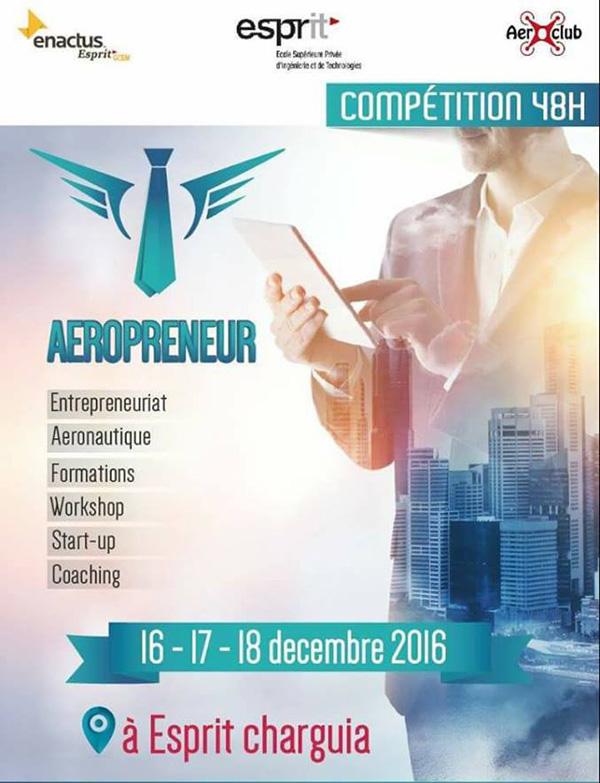 Compétition nationale en aéronautique à ESPRIT