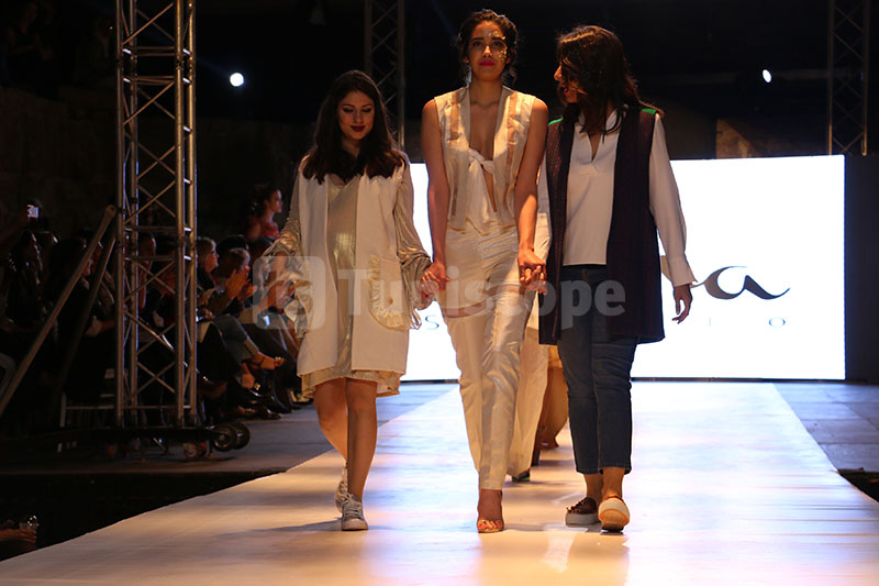 En photos : Défilé de Alisha Studio à la Fashion Week de Tunis