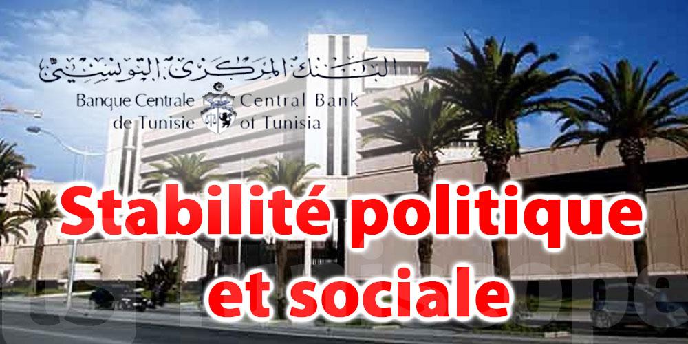 ''Il faut parvenir sans tarder à la stabilité politique et sociale''