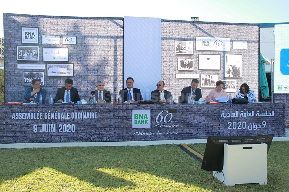 Ambiance de l'assemblée générale ordinaire de la BNA