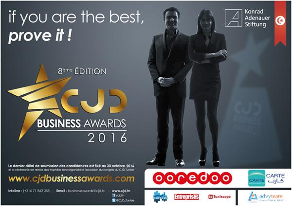 Lancement de la huitième édition des CJD Business Awards 2016