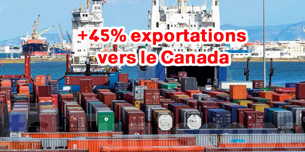 71 MDT d'augmentation dans les exportations vers le Canada