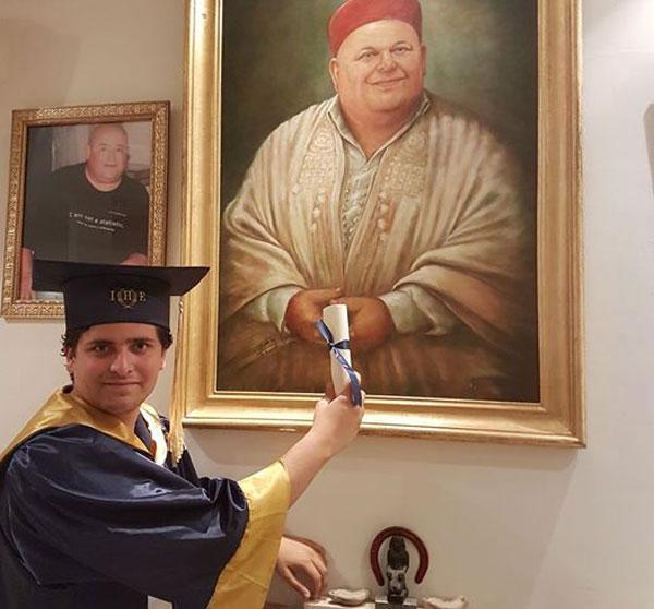 Le message du fils de Sofien Chaari à son papa