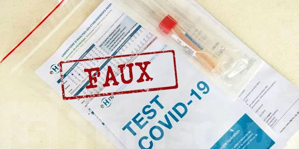 Des Tunisiens avec des tests PCR falsifiés épinglés en France