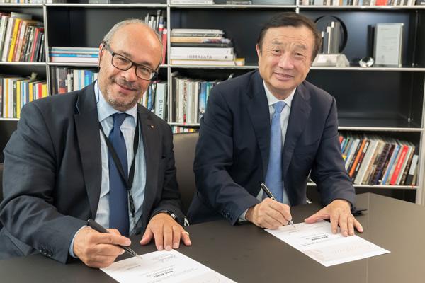 Huawei et Leica Camera créée un nouveau Centre de Recherche et d¹Innovation