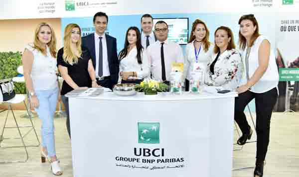 En photos : Participation de l'UBCI au Salon Expo Finance