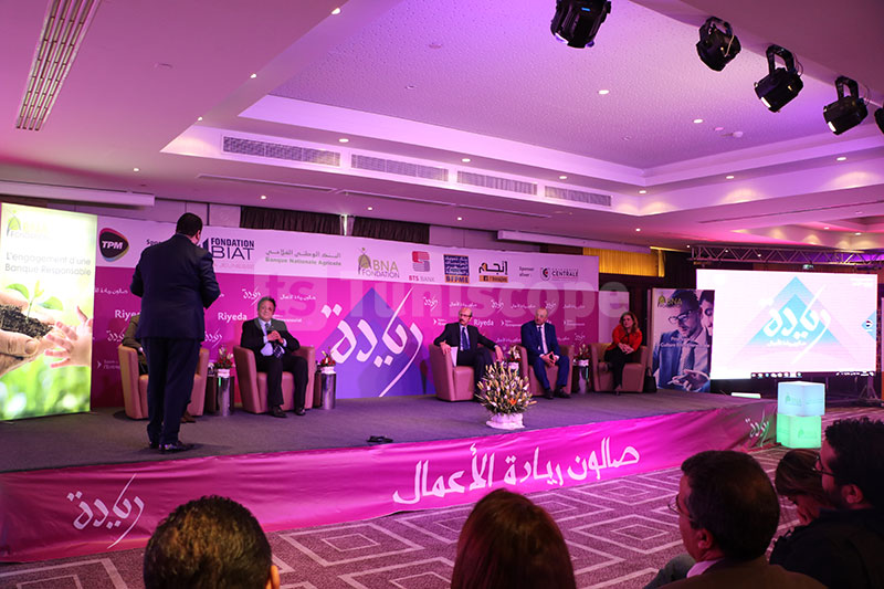 En images, la 1ère journée du salon de l'Entrepreneuriat Riyeda