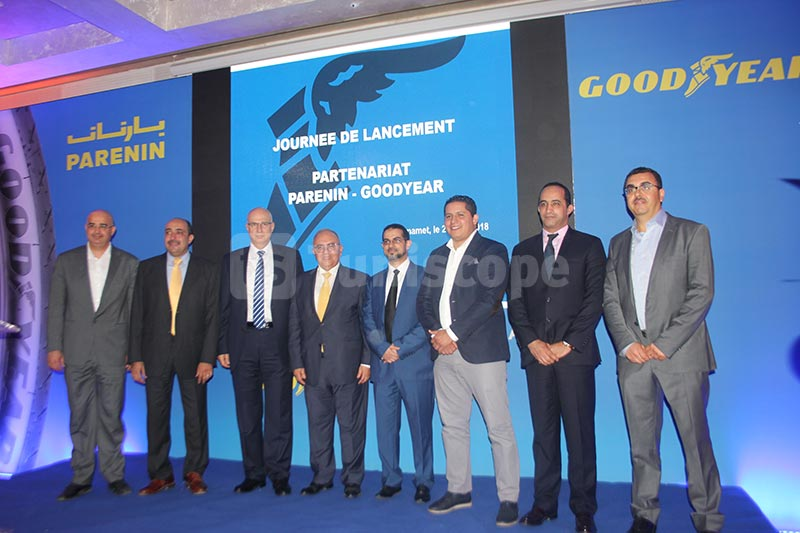 En photos: PARENIN devient distributeur officiel de GOODYEAR en Tunisie