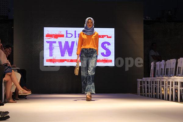 Tunis Fashion Week 2017 : Défilé de BLUE TWINS