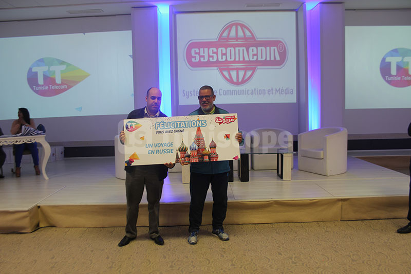 بالصور: اتصالات تونس توزع جوائز بقيمة تفوق ال425 مليونا على الفائزين بمسابقة ''مربوحة''