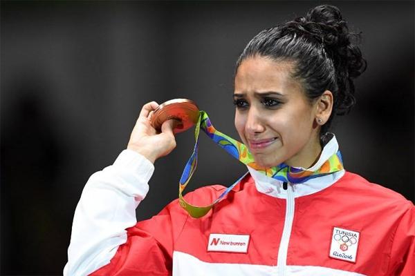 Le ministre du sport: 100 000 DT pour Ines Boubakri