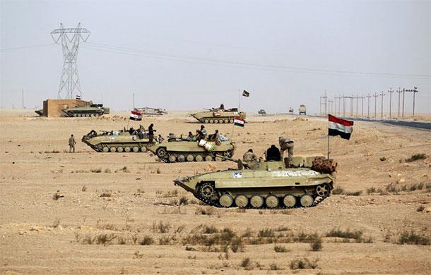 L'Irak a lancé son ultime bataille dans le désert occidental pour éradiquer le groupe Etat islamique