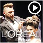 L'Oréal : Un show de haute coiffure animé par Jérôme Guézou