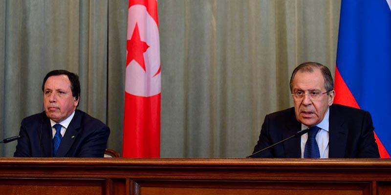 Le ministre des affaires étrangères russe, Sergei Lavrov effectue une visite les 25 et 26 janvier à la Tunisie