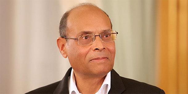 Moncef Marzouki appelle à une manifestation pacifique le 27 janvier sous le signe