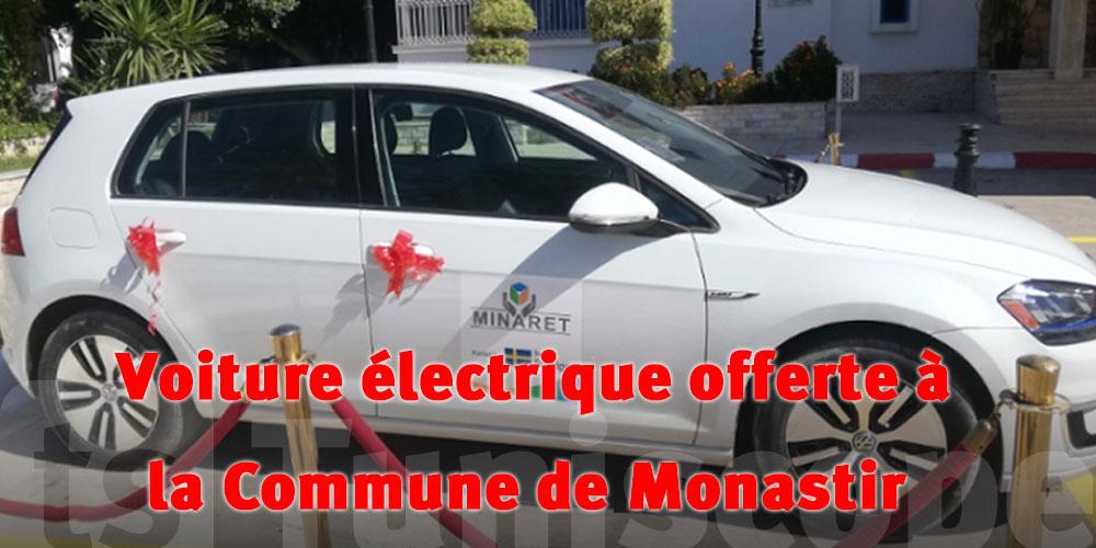 Une voiture électrique offerte à la commune de Monastir