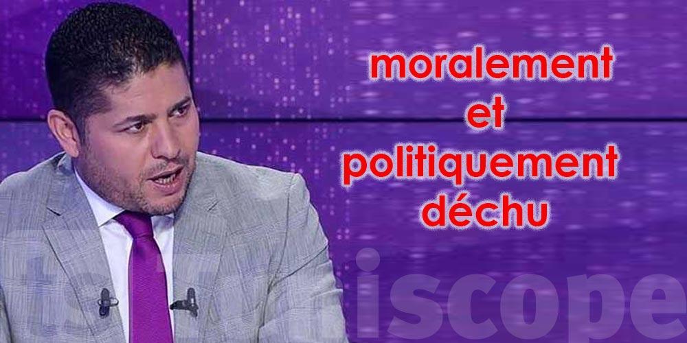 Mohamed Ammar : Le gouvernement Mechichi est, moralement et politiquement, déchu