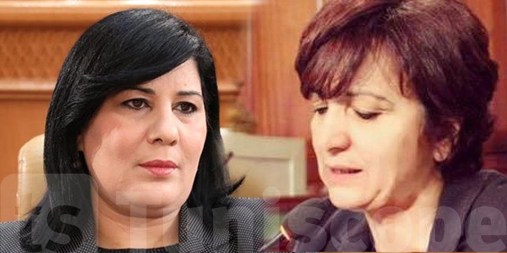 Samia Abbou exprime son soutien à Abir Moussi