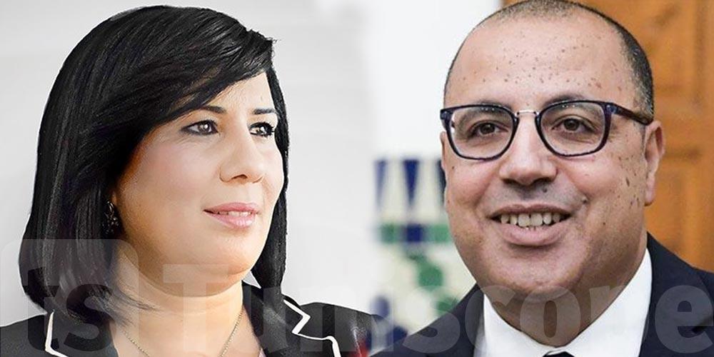 Abir Moussi à Mechichi : vous n'avez économisé aucun effort à ternir l'image de la Tunisie