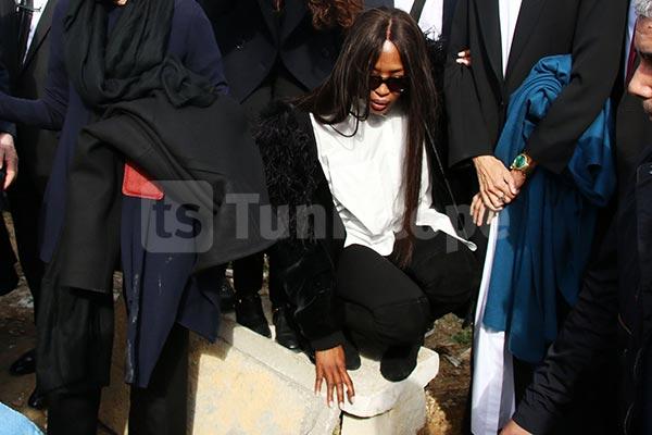 Naomi Campbell après les obsèques d'Azzedine Alaïa : tu étais PARFAIT et UNIQUE …je t'aime Papa