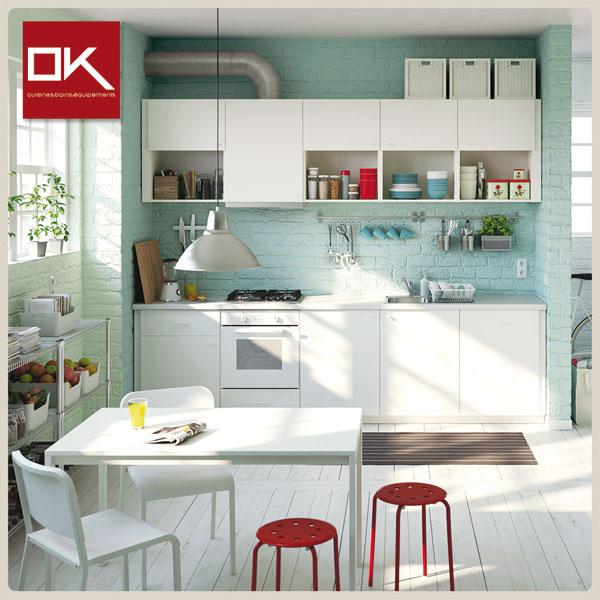La nouvelle marque OK Cuisines, distribuée dans les réseaux BATAM, met la cuisine sur mesure  à portée de tous les budgets