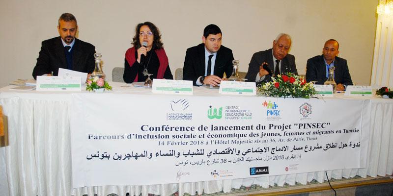 Jeunes femmes et migrants un projet d'inclusion sociale et économique