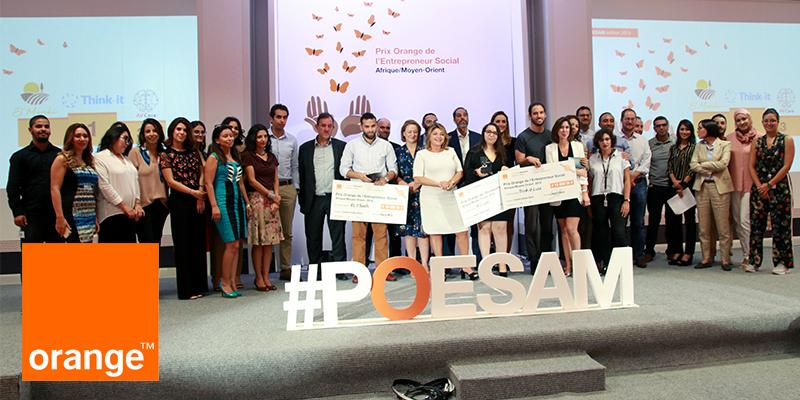 En vidéos : Les 3 lauréats du Prix Orange de l'Entrepreneur Social 2019