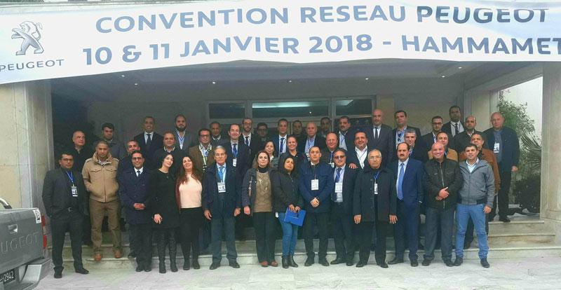 Convention Réseau Peugeot 10 & 11 Janvier 2018