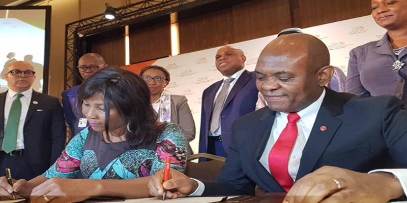 Signature de Partenariat TEF-PNUD pour autonomiser 100 000 jeunes entrepreneurs en Afrique