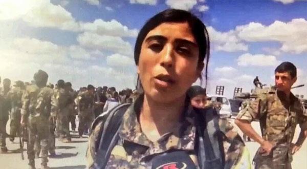 كردية تقود جبهة ضد داعش!