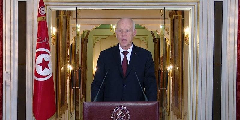 ''قيس سعيّد: ''ّسنحقّق أفراح التونسيين