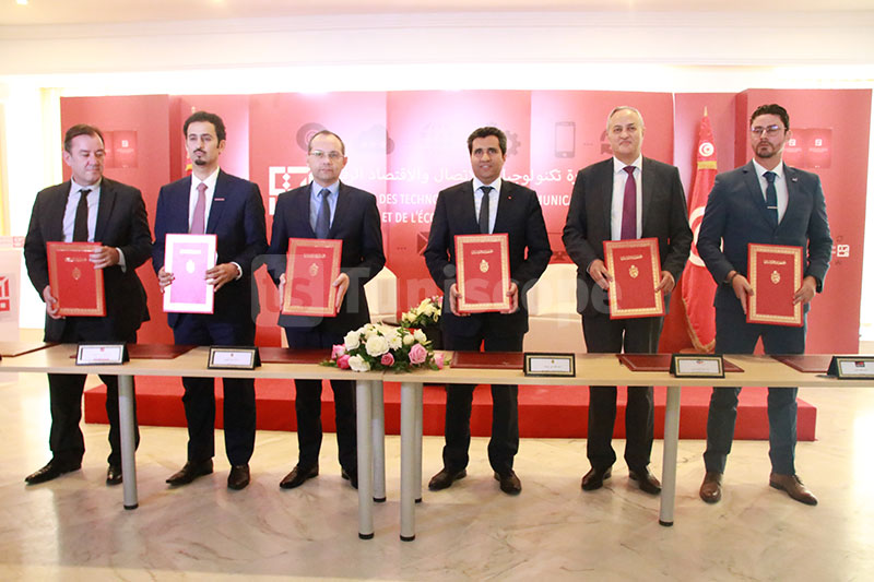 En photos : LANCEMENT DE L'INITIATIVE WE CARE PAR OOREDOO, ORANGE ET TUNISIE TELECOM