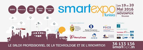 Le Salon Professionnel de la Technologie et de l'Innovation, Smart Expo Tunisia