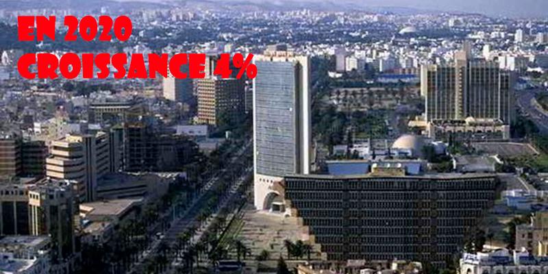 La Tunisie aura un taux de croissance de 4% en 2020, selon la Banque Européenne