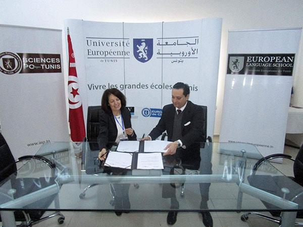 L'UQAM et Sciences Po Tunis signent un accord stratégique