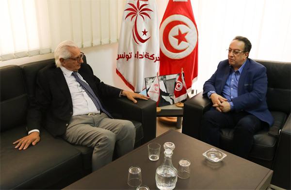 التحاق فريد عبّاس الرئيس السابق للنادي الافريقي بنداء تونس