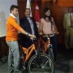 Photo du jour : Mohamed Abbou prendra sa 'bicyclette' pour les législatives